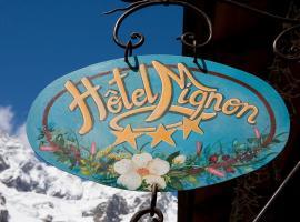 Hotel Mignon, hotel near Klein Matterhorn, Breuil-Cervinia