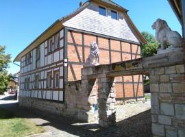 Luxe fachwerkhaus am Huy, Hotel in Schlanstedt