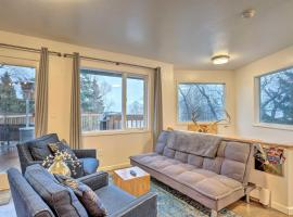 Coastal-View Apt Steps to Downtown Anchorage!, vacation rental in Anchorage