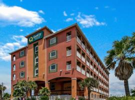 Quality Inn & Suites Beachfront, hotel in Galveston