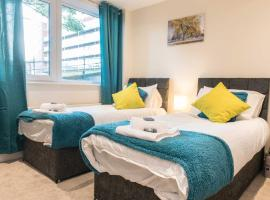 SUBLIME STAYS - Derby City Centre Apartments, apartment in Derby