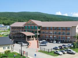 Земляничные Холмы, отель рядом с аэропортом Аэропорт Южно-Сахалинск - UUS