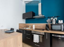 MAD Studio neuf et douillet, hypercentre jaures, tram, appartement à Brest