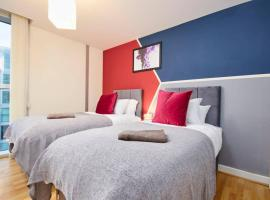 Ideal Apartment in The Hub - Parking, apartment in Milton Keynes
