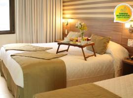 Hotel Continental Business - 200 metros do Complexo Hospitalar Santa Casa, hotel em Porto Alegre