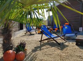 Plażowy Apartament z widokiem na Skrzyczne – hotel w Żywcu
