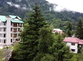 Hotel Delfryn, hotel in Manāli