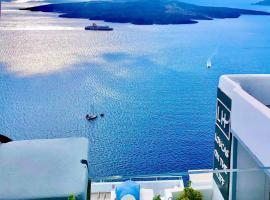 Loucas on the Cliff, hotel in Fira