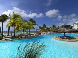 Chambre 3 étoiles Piscine et plage privé au Manganao, хотел в Сен Франсоа