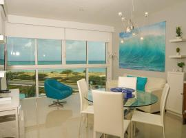 Elegant apartment with sea views, appartement in Palm-Eagle Beach