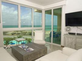 Stunning apartment with sea views, appartement in Palm-Eagle Beach