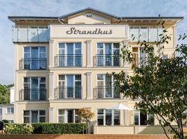 Aparthotel Strandhus, hotel near Świnoujście Railway Station, Ahlbeck