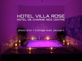 Hotel Villa Rose, hotel in Nice