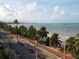 Beira Mar com Vista da Praia do Cabo Branco 308, hotel in João Pessoa