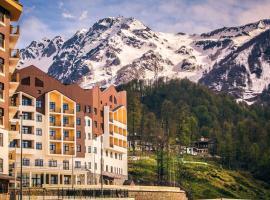 Ski Inn Rosa Khutor SPA Hotel, hotel near All-Season Mountain Resort Rosa Khutor, Estosadok