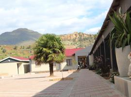 Phokeng guest house, hotel in Molefis