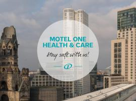 Motel One Berlin-Upper West, hotel in Berlin