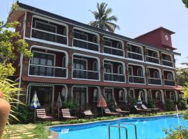 Kingstork Beach Resort, hotel with pools in Calangute