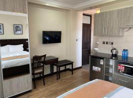 Hemak Suites, hótel í Nairobi