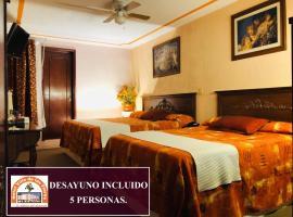 Hotel Villa De Las Flores, hotel in Zacatlán