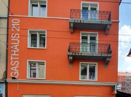 Gasthaus 210, B&B in Zurich