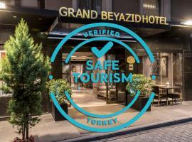 Grand Beyazit Hotel, hotel in Istanbul