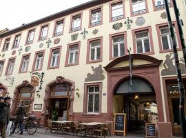 Hotel Perkeo, hotel near Heidelberg Central Station, Heidelberg