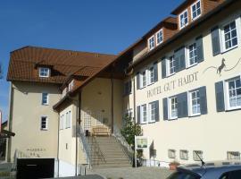 Landhotel Gut Haidt, hotel in Hof