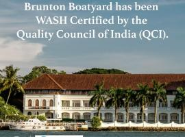 Brunton Boatyard - CGH Earth, hotel in Cochin