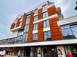 AMBER PORT – hotel w Darłówku
