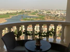Furnished studio in Al Hamra village with Lagoon view in RAK, apartment in Ras al Khaimah