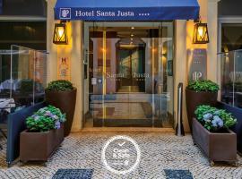 Hotel Santa Justa, hotel near Santa Catarina Viewpoint, Lisbon