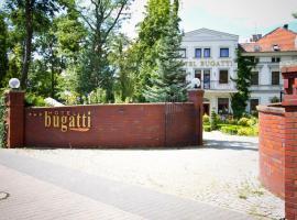 Hotel Bugatti – hotel w pobliżu miejsca Lotnisko im. Mikołaja Kopernika we Wrocławiu - WRO