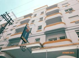 Hotel Ritz Palace, hotel em Santos