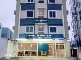 Hotel Spring Leaf Budget, отель в Хайдарабаде