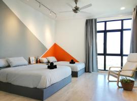 Kepong Lake View Residence, 4 Bedrooms Muji Comfy Unit, 3min FRIM & 5min Batu Cave, serviced apartment in Kuala Lumpur