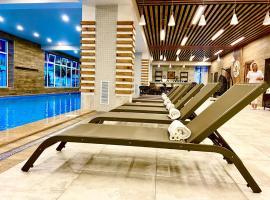 Grand Hotel & Spa Priboy, отель в Лазаревском