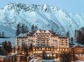Carlton Hotel St. Moritz, hotel in St. Moritz