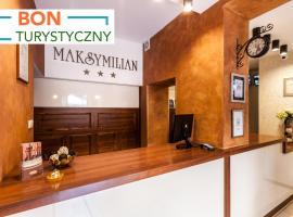 Hotel Maksymilian, hotel near 5 Military Clinical Hospital SPZOZ, Kraków