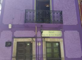 Hotel Rincon de Los Angeles, отель в городе Гуанахуато