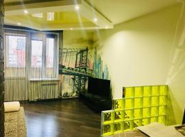 Апартаменты Люкс на Шмидта 6, self catering accommodation in Shchelkovo