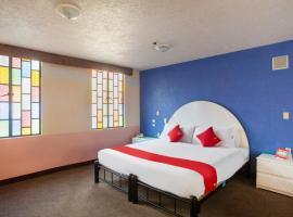 OYO Quinta Bugambilias, hotel near Benito Juarez International Airport - MEX, Mexico City