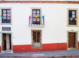 Capital O Hotel Casa Del Toboso, hotel in Guanajuato