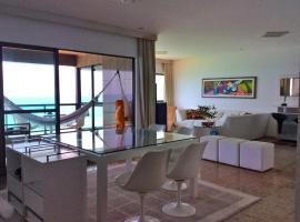 BEST PANORAMIC VIEW 180º, BOA VIAGEM BEACH, apartment in Recife