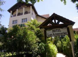 Las Araucarias, hotel en Pinamar