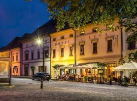 Hotel U Leva, hotel in Levoča
