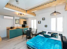 Duplex : Plage 300m, Clim, Netflix, apartment in Cannes