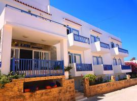 Luis Apartments, beach hotel in Mastichari