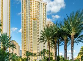 * NO RESORT FEES * STRIP VIEW * MGM STUDIO-2307, pet-friendly hotel in Las Vegas