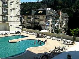 Estudio Itaipava - Granja Brasil - Flat Luxo 419, pet-friendly hotel in Itaipava